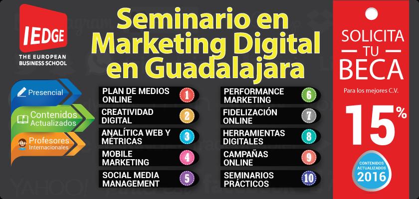 Seminario en Marketing Digital en Guadalajara