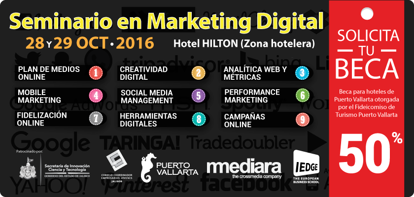 IEDGE. Seminario de Marketing Digital en Puerto Vallarta