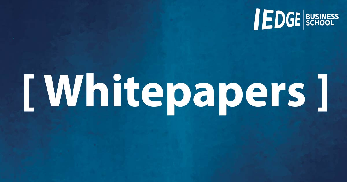 Whitepapers e Informes de IEDGE Business School