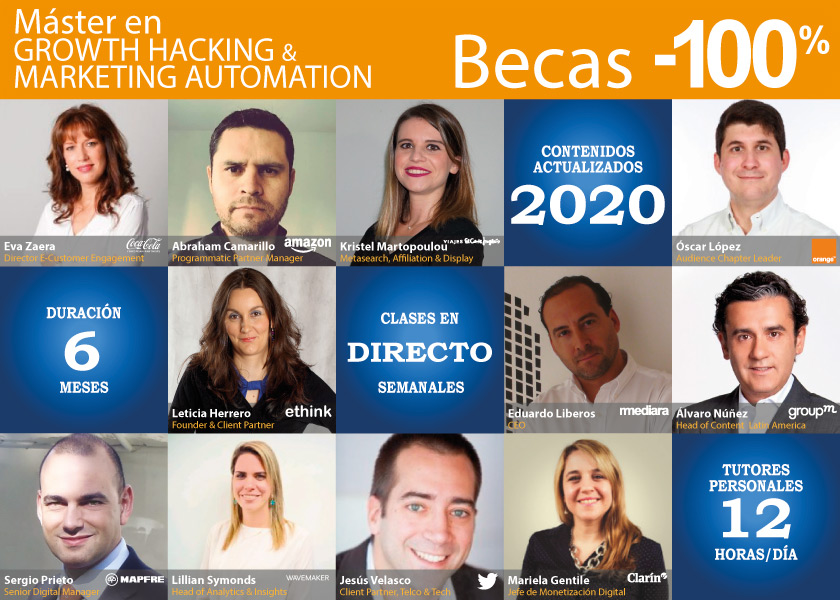 Máster en Growth Hacking & Marketing Automation | IEDGE Business School