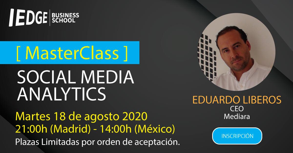 Webinar de Social Media Analytics 2020
