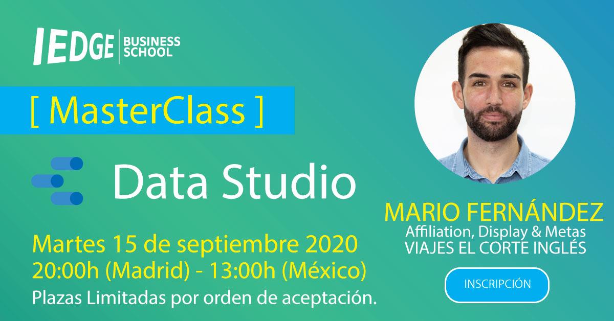Webinar de Data Studio 2020