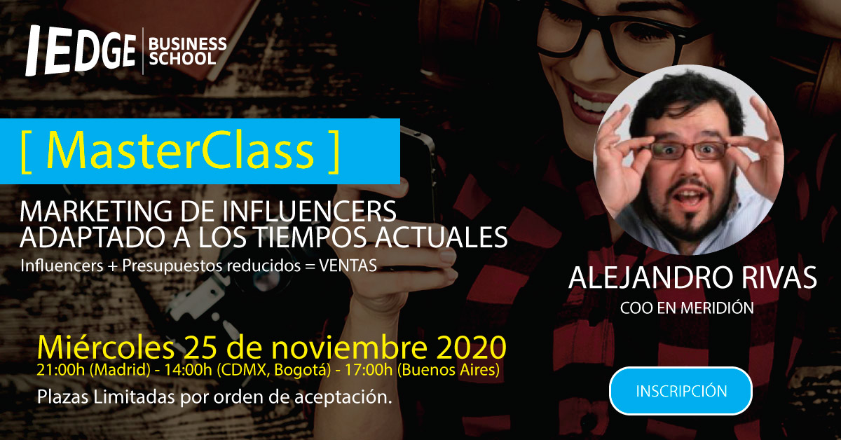 [ Masterclass ] de Marketing de Influencers 2020
