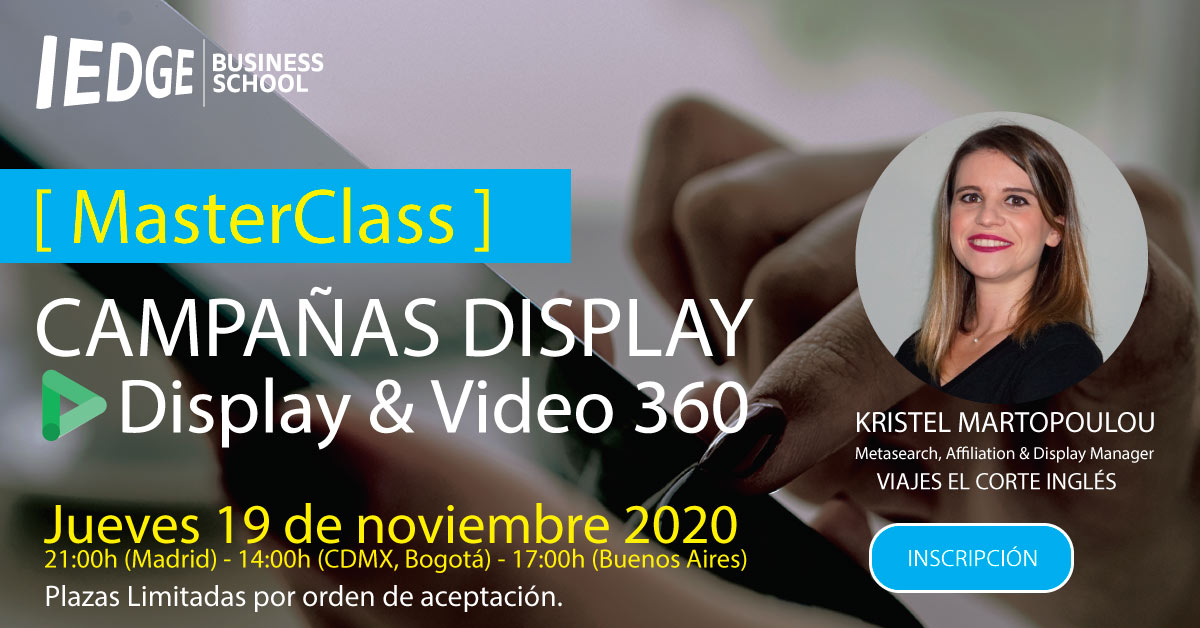 [ Masterclass ] - Display Campaigns en DV360